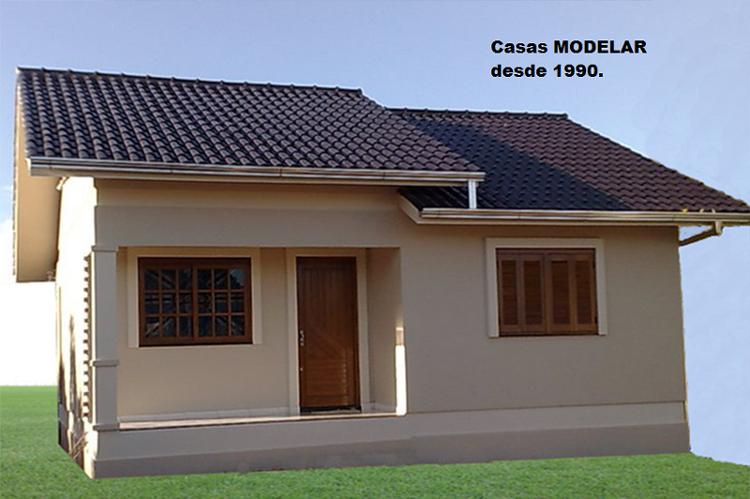 Modelos das casas casas pr fabricadas modelar for Modelos de techos metalicos para casas